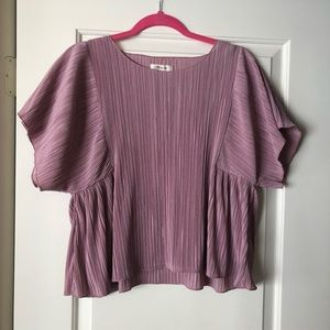 Madewell Micropleat Blouse